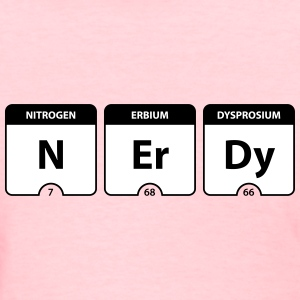 Nerdy Periodic Table Women's T-Shirts - Women's T-Shirt