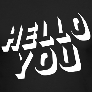 hello you Long Sleeve Shirts - Men's Long Sleeve T-Shirt by Next Level