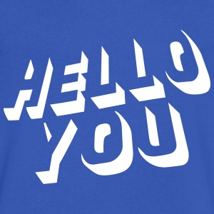 hello you T-Shirts - Men's V-Neck T-Shirt by Canvas