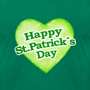 Unique Happy St. Patrick´s Day Design - Men's T-Shirt by American Apparel