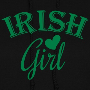 irish girl / irish girl heart Hoodies - Women's Hoodie