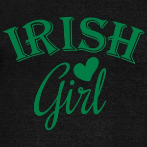 irish girl / irish girl heart Long Sleeve Shirts - Women's Wideneck Sweatshirt