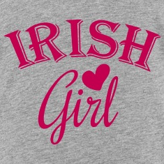 irish girl / irish girl heart Kids' Shirts