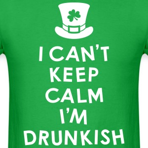 Keep Calm St. Patricks T-Shirts - Men's T-Shirt