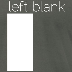 left blank T-Shirts - Men's T-Shirt by American Apparel