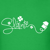 Design ~ Slainte Cheers Men's T-Shirt
