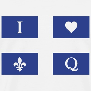 I love Quebec - Men's Premium T-Shirt