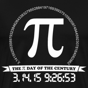 Pi day of the century - Men's Premium T-Shirt