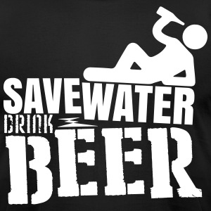 Save water Drink beer T-Shirts - Men's T-Shirt by American Apparel