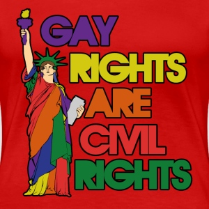 Gay rights - Women's Premium T-Shirt
