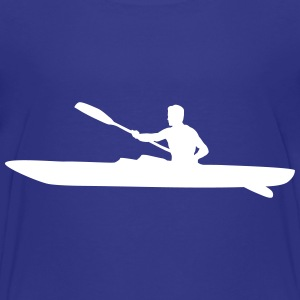 Kayak, kayaker - man Baby & Toddler Shirts - Toddler Premium T-Shirt
