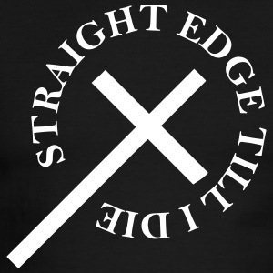 Straight Edge - Men's Ringer T-Shirt