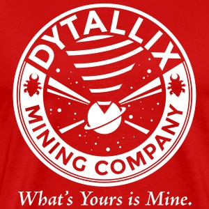 Star Trek Conspiracy Dytallix - Men's Premium T-Shirt