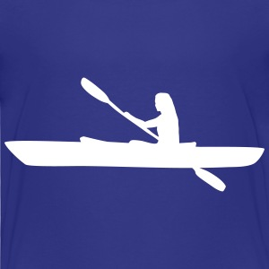 Kayak, kayaker - woman Baby & Toddler Shirts - Toddler Premium T-Shirt