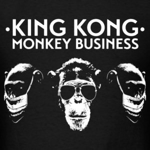 King Kong Monkey Business - Men's T-Shirt