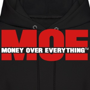 MONEY OVER EVERYTHING - Men's Hoodie