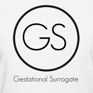 GS Gestational Surrogate Women's T-Shirts - Women's T-Shirt