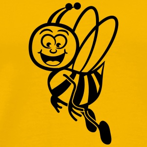 Bee fly sweet funny T-Shirts - Men's Premium T-Shirt