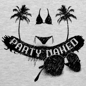 party naked Tank Tops - Men's Premium Tank