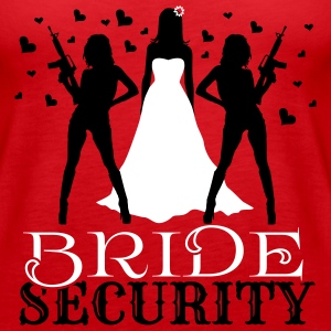 Bride Security Tanks - Women's Premium Tank Top