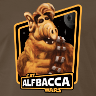Design ~ Alfbacca: Cat Wars Big Tee