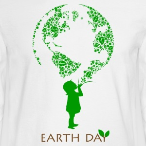 Earth Day Child Long Sleeve Shirts - Men's Long Sleeve T-Shirt
