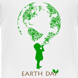 Earth Day Child Kids' Shirts - Kids' Premium T-Shirt