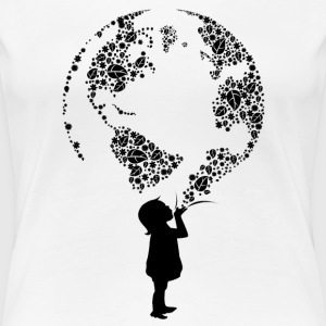 Earth Child (black) Women's T-Shirts - Women's Premium T-Shirt