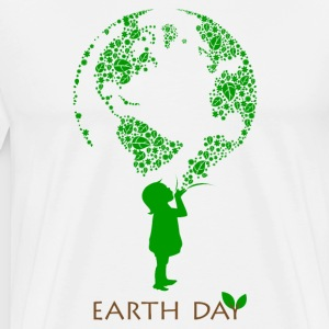 Earth Day Child T-Shirts - Men's Premium T-Shirt