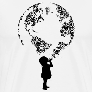Earth Child (black) T-Shirts - Men's Premium T-Shirt