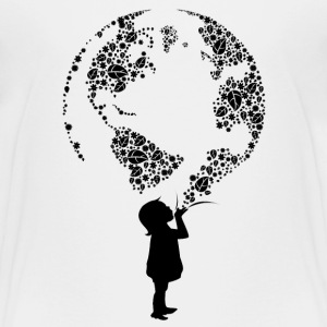 Earth Child (black) Kids' Shirts - Kids' Premium T-Shirt