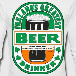 Ireland's Greatest Beer Drinker. - Men's Long Sleeve T-Shirt by Next Level