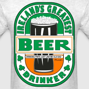 Ireland's Greatest Beer Drinker. - Men's T-Shirt