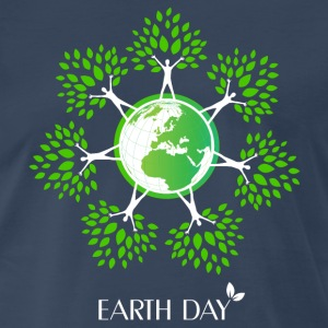 Earth Day Tree People T-Shirts - Men's Premium T-Shirt