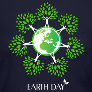 Earth Day Tree People Long Sleeve Shirts - Women's Long Sleeve Jersey T-Shirt