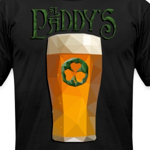 Low-Poly: St. Paddy's Day T-Shirts - Men's T-Shirt by American Apparel