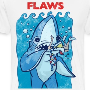 Flaws The Left Shark Parody - Men's Premium T-Shirt