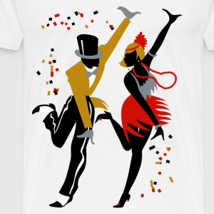 Charleston Dance - Men's Premium T-Shirt