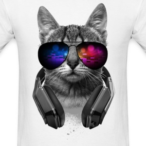 Music Lover Cat VII - Men's T-Shirt