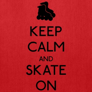 Keep Calm skate on Bags & backpacks - Tote Bag
