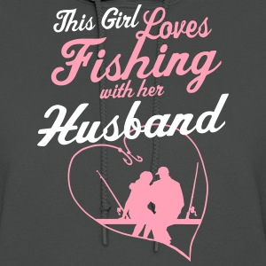 Fishing With Her Husband - Country Closet Hoodies - Women's Hoodie