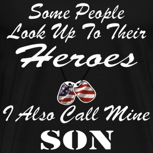 I Call My Hero SON - Men's Premium T-Shirt