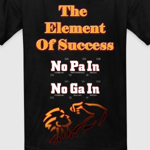 The Element Of Success Kid's T-Shirt - Kids' T-Shirt