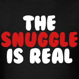 The Snuggle Is Real T-Shirts - Men's T-Shirt