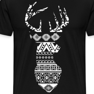 Deer silhouette - Men's Premium T-Shirt