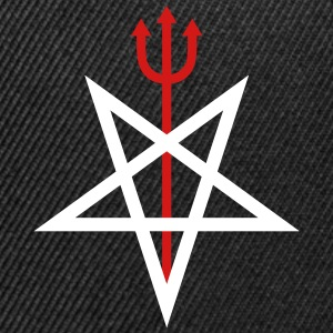 Pitchfork Pentagram Sportswear - Snap-back Baseball Cap