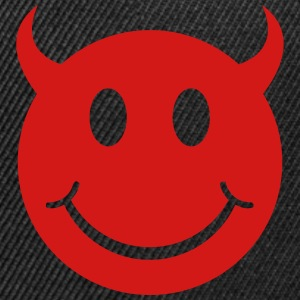 Smiley Devil Face Sportswear - Snap-back Baseball Cap