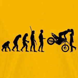 Evolution Enduro kiss Shirt - Men's Premium T-Shirt
