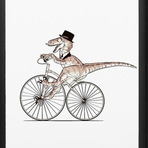 gentleman Dino riding case - iPhone 6/6s Rubber Case