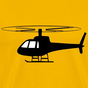 Helicopter fun helicopter T-Shirts - Men's Premium T-Shirt